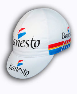 4fd138c37 £12.99. Retro reproduction Banesto Cycling Team Cap. Very Iconic Vintage  Cycle Team Kit