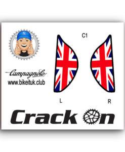 British Flag Campagnolo Brake Lever Designs