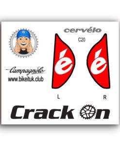 Cervelo Campagnolo Brake Lever Design Red