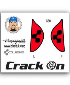 Cube Campagnolo Brake Lever Design Black Red