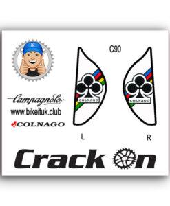 Colnago Campagnolo Brake Lever Design white