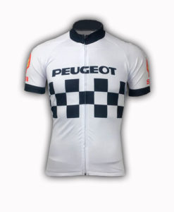Retro Peugeot Shell Team Cycling Jersey