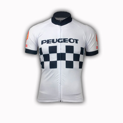 Retro Peugeot Cycling Jersey