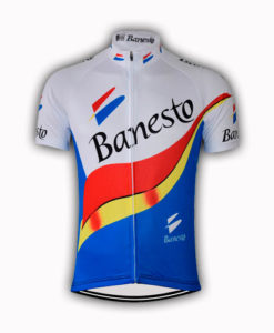 Retro Banesto Team Cycling Jersey