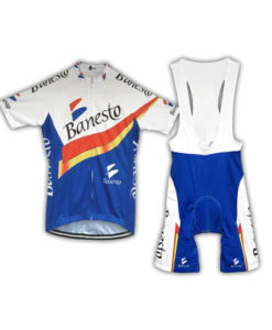 Retro Banesto Team Cycling Kit
