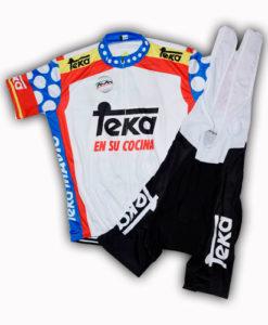 Retro Team Teka Cycling Kit