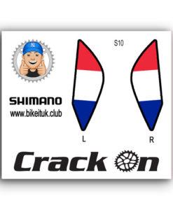 French Flag Shimano Brake lever design