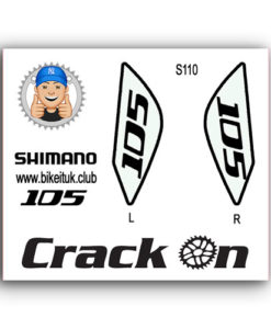 Shimano 105 Brake lever Designs White
