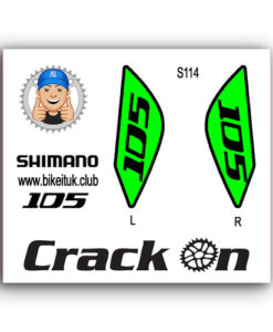 Shimano 105 Brake Lever Design Green
