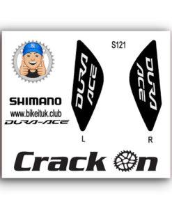 Shimano Dura Ace Brake Lever Design Black