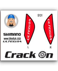 Shimano Ultegra Brake Lever Design Red