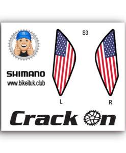 American Shimano Brake Lever Design