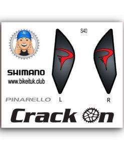 Pinarello Shimano Brake Lever Design Black Red