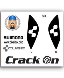 Cube Shimano Brake Lever Design Black
