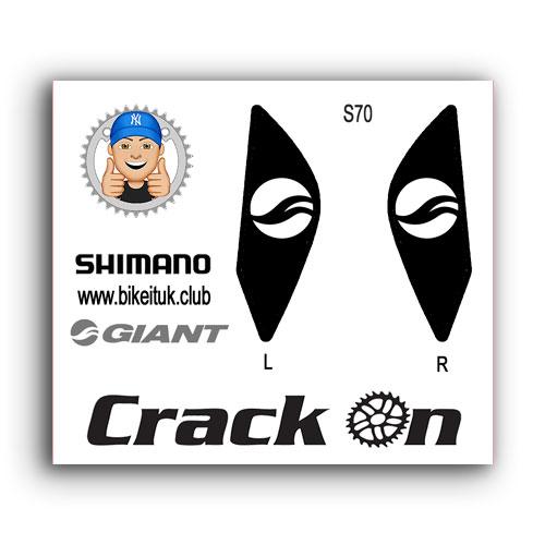 Giant Shimano Brake lever Design Black