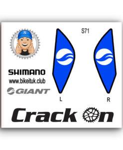 Giant Shimano Brake lever design blue
