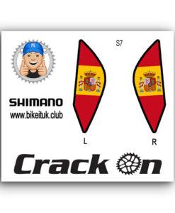 Spanish Shimano Brake Lever Design