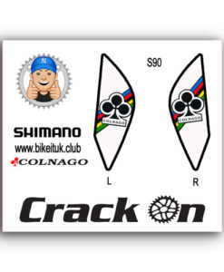 Colango Shimano Brake lever Design White