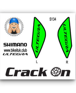 Green Ultegra Shimano Stickers