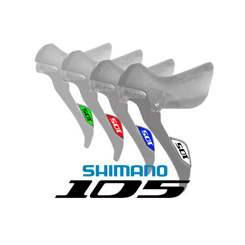 Shimano 105 Stickers
