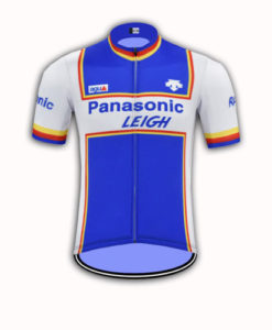 Panasonic Retro Cycle Jersey