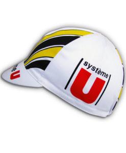 Retro System U Team Cycling Cap