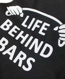 Life Behind Bars Cycling Work Apron