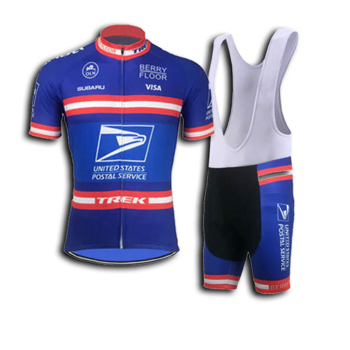 US Postal Service Retro Cycling Kit