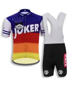 Retro Joker eddy merkx cycling kit
