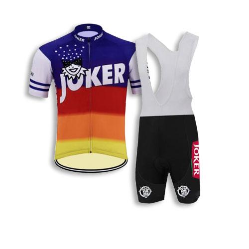 Retro Joker eddy merkx cycling kit
