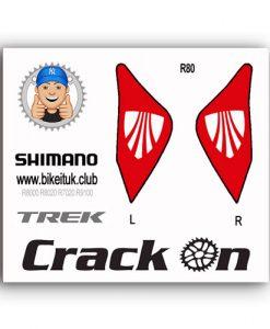 Trek lever Stickers Shimano