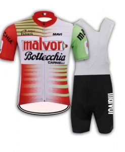 Malvor Bottecchia Retro Cycling Kit