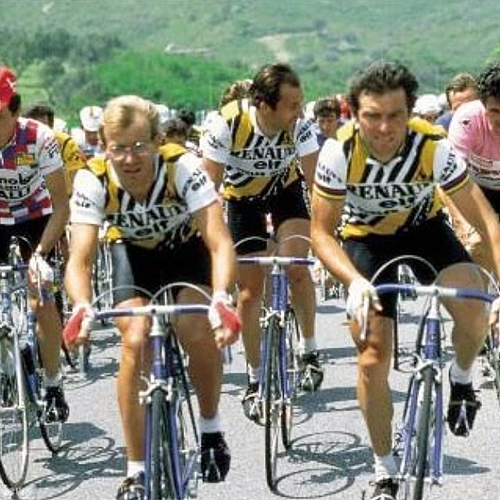 Retro Renault Elf Cycling Team
