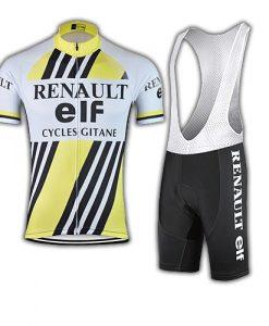 Retro Renault Elf Cycling Kit